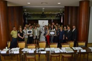 Predstavnici HOK-a i predavači na radionici o lobiranju u Zagrebu